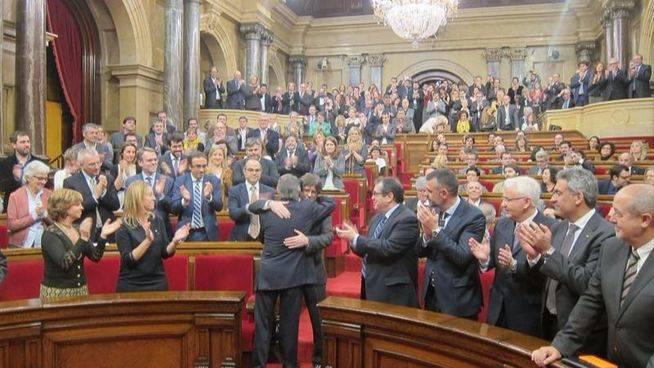La resoluci�n del Parlament sobre el