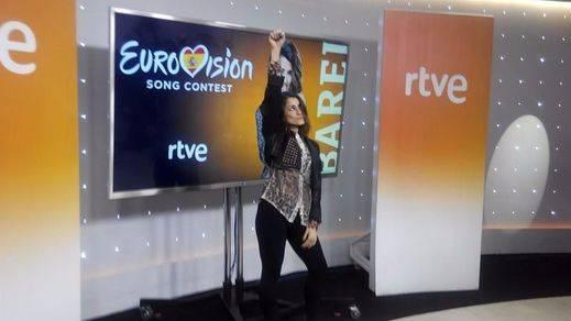Barei será nuestra primera candidata a Eurovisión que cantará íntegramente en inglés su tema 'Say yay'