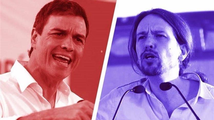 Desencuentros y coincidencias entre los programas de PSOE y Podemos: del referéndum a las puertas giratorias