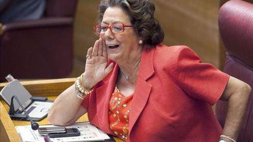 Imputado por blanqueo el equipo de gobierno de Barberá, mientras la senadora se 'protege' en su escaño
