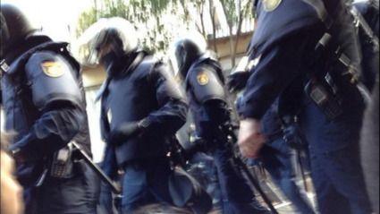 El fiscal pide 16 meses de cárcel a un ciudadano por grabar una actuación policial