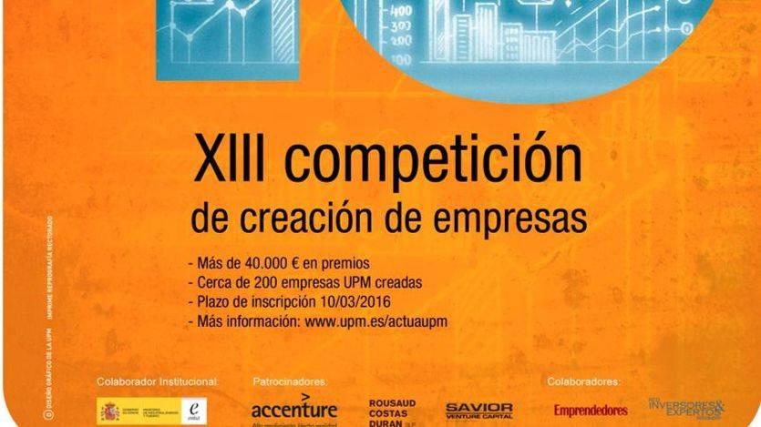 La Universidad Politécnica de Madrid convoca una nueva edición de Actúaupm
