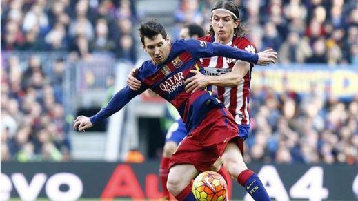 Apelación perdona a Filipe Luis: reduce a un partido la sanción por su expulsión en el Camp Nou