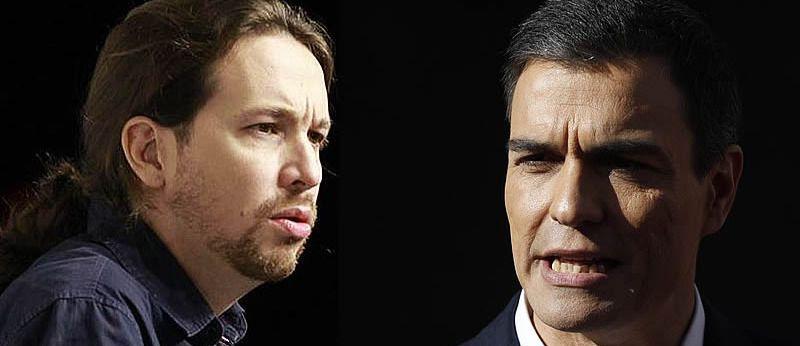 Sánchez, a Iglesias: 'Mal empezamos, si no te fías de mí no entiendo por qué me vas a dar el apoyo'