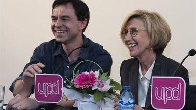 UPyD, el �ltimo, que cierre la puerta...: Rosa D�ez y Herzog anuncian su baja del partido y piden su disoluci�n