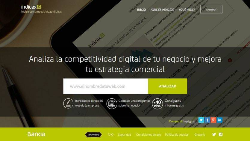 Portal de Bankia Íncidex