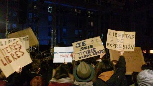 El sindicato Unión de Actores y Actrices reclama la libertad de los titiriteros de Madrid