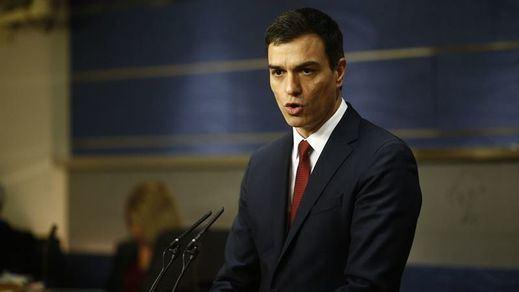 Así se está analizando el documento de propuestas del PSOE para conseguir la investidura de Sánchez