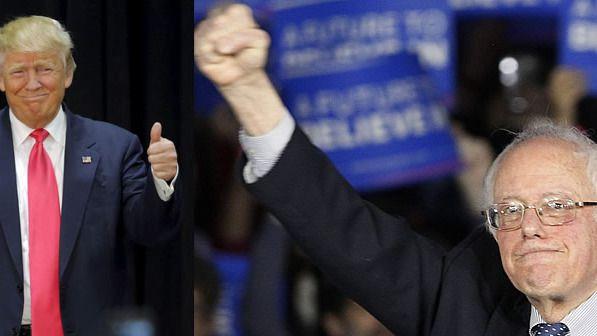 Las primarias de los candidatos de EEUU se radicalizan: el republicano Trump y el demócrata Sanders ganan en New Hampshire
