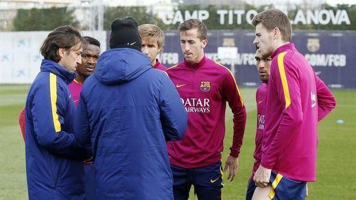 El Barça se llena de reservas y canteranos para el trámite copero de Mestalla