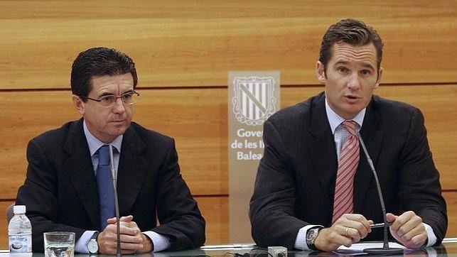 Jaume Matas e Iñaki Urdangarín