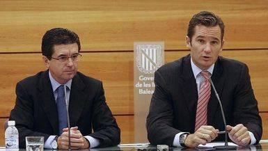 Jaume Matas e I�aki Urdangar�n
