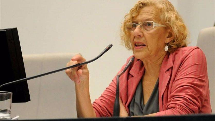 Carmena desmiente el 'disparate' de retirar el nombre franquista a calles o espacios como Bernabeú o Dalí