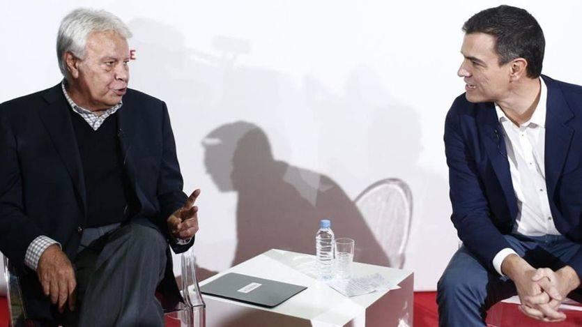 Felipe González rectifica con Sánchez y ahora ve 'inteligente' su 'hoja de ruta'