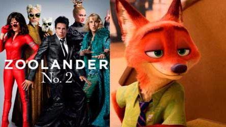 Estrenos de cine: 'Zoolander No. 2', la cinta de animación 'Zootrópolis' y lo último de Will Smith