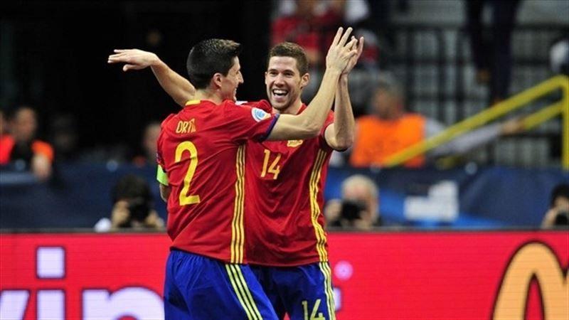 La Roja de fútbol sala nunca defrauda: derrota a Kazajistán y se mete en otra final europea