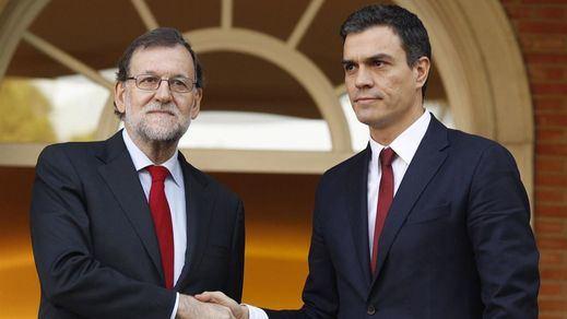 La pantomima de reunión de Rajoy y Sánchez de hoy: