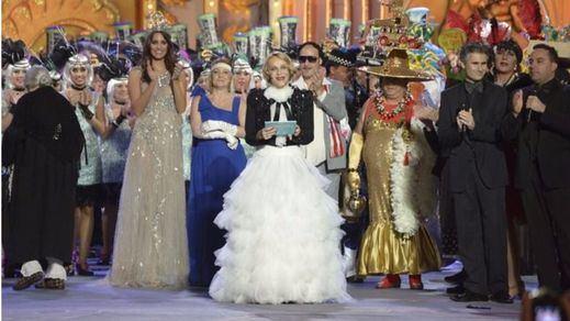 Antonia San Juan cree que lo hizo tan mal que no merece cobrar por presentar la gala del Carnaval