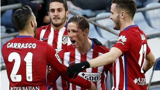 La resurrección de Torres mantiene en la pelea a un Atlético que gana en Getafe con un gol suyo (0-1)