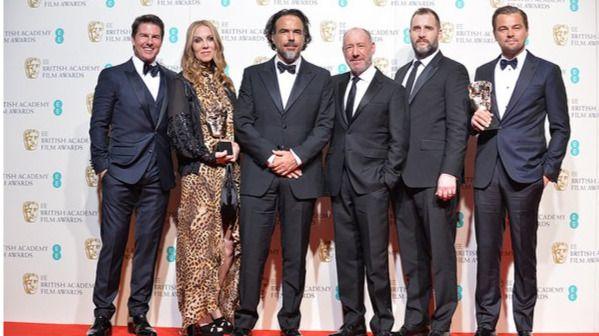 Iñarritu sigue conquistando galardones con su 'Renacido': arrolla en los Bafta con cinco premios