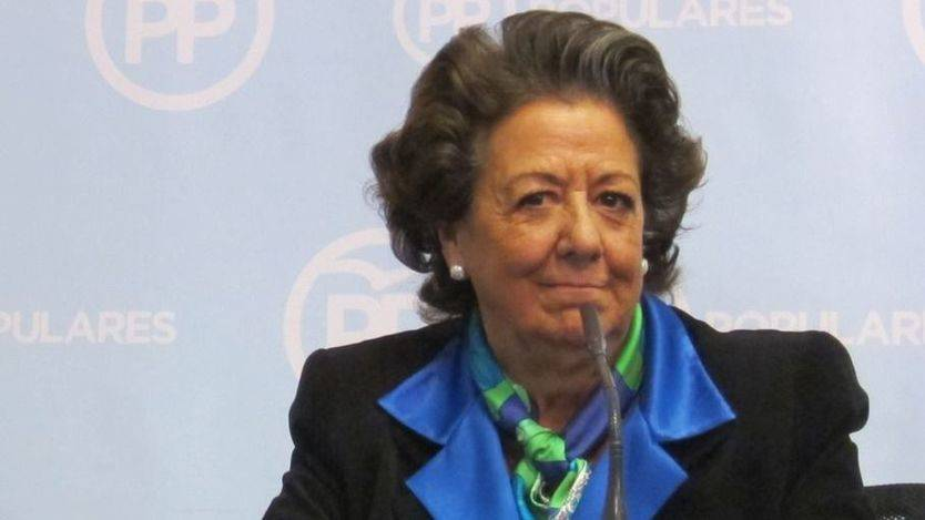 Se abre una nueva vía crítica en el PP: si Rita Barberá 'no suma', debería 'apartarse' de sus cargos