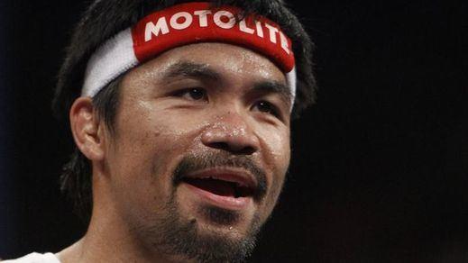 ¿Está sonado el boxeador Pacquiao?: