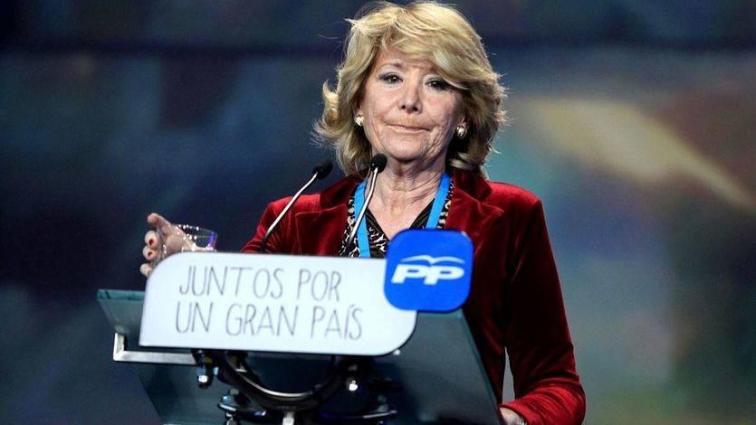 La tranquila Aguirre con la Púnica: 'Que se busque todo... nadie me ha acusado de llevarme un duro'
