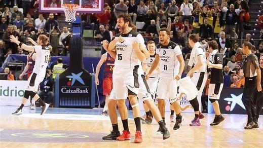 Sorpresón en la Copa del Rey: el Bilbao Basket elimina al Barça (73-72)