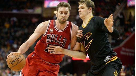 Grave peligro de los Bulls de no entrar en los 'play offs' a pesar de las buenas actuaciones de Pau Gasol