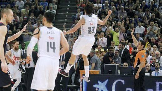 Copa: el Madrid gana al Basconia y defenderá su título ante el sorprendente Gran Canaria (86-80)