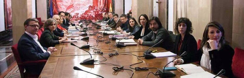 Reunión a 4 para negociar la investidura de Pedro Sánchez