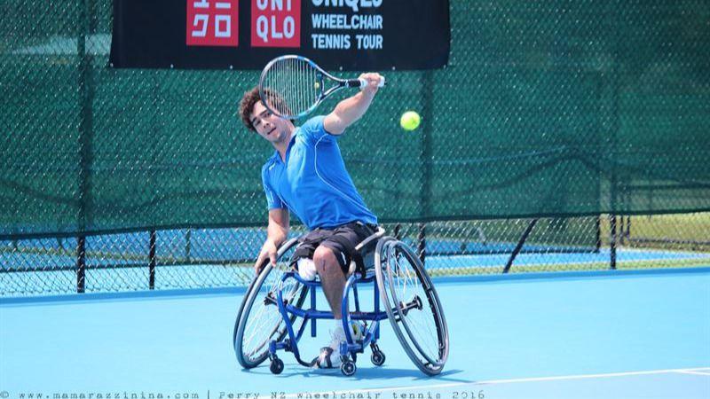 Dani Caverzaschi ya está entre los 20 mejores del mundo en tenis en silla de ruedas