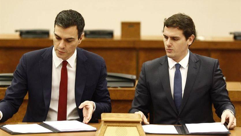 Todos los puntos de acuerdo del pacto PSOE-Ciudadanos: así cambiará España