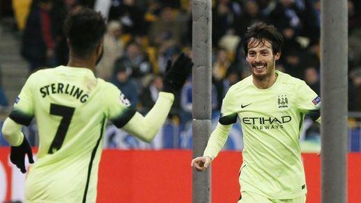 Champions: el City, casi en semifinales tras ganar fácil en Kiev (1-3)