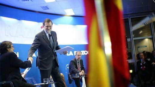 Rajoy explota contra el 'traidor' Rivera: