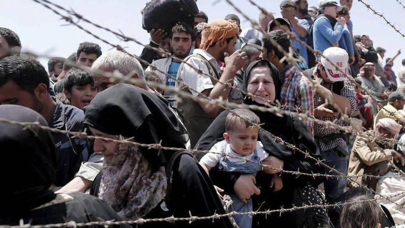 Hay quien sí se acuerda de los 'eternos olvidados': marcha europea por los refugiados