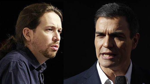Iglesias y Sánchez no se reúnen pero sí tienen tiempo para enzarzarse en Twitter