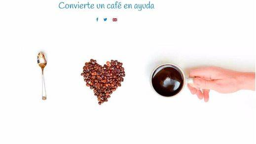 Campaña 'Share a coffee for'