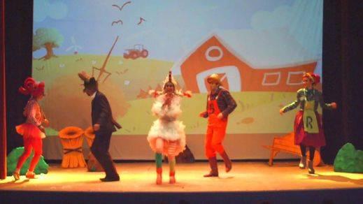 'La gallina Turuleca, el musical', divertida, ágil y familiar
