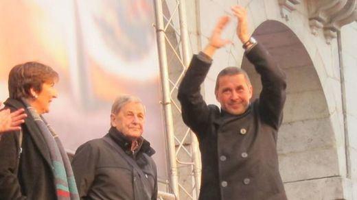 Otegi hace un discurso con escasas referencias, entre sarcasmos, a las víctimas de ETA