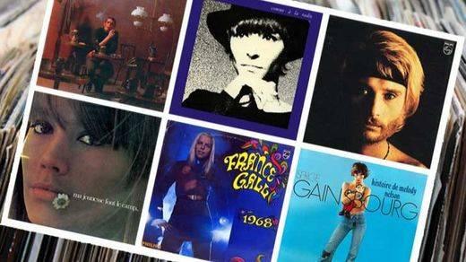Los 20 mejores discos de la historia de Francia (I)