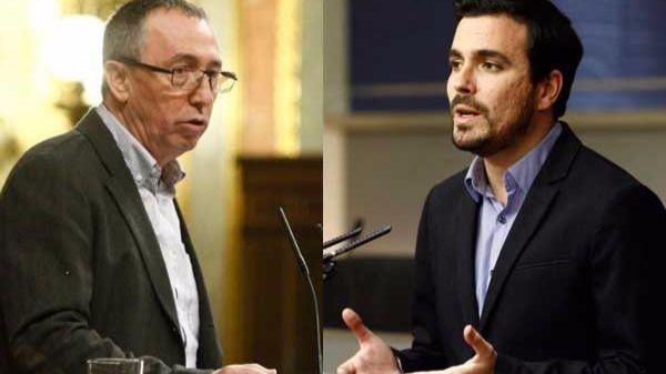 Joan Baldoví y Alberto Garzón