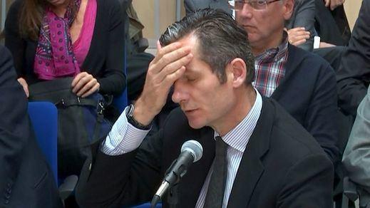 Urdangarin reconoce que cargó gastos personales pero insiste en exculpar a la infanta Cristina: