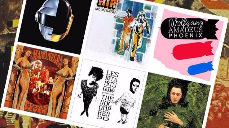 Los 20 mejores discos de la historia de Francia (II)