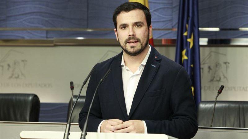 Alberto Garzón volverá a intentar la alianza Podemos-IU en caso de nuevas elecciones