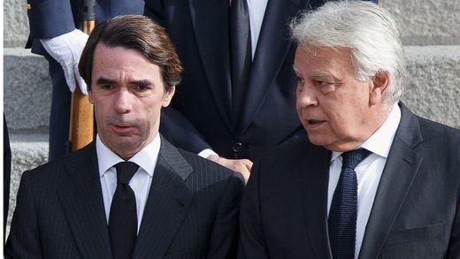 Aznar y González dan ejemplo a sus partidos: juntan sus firmas en apoyo a Leopoldo López