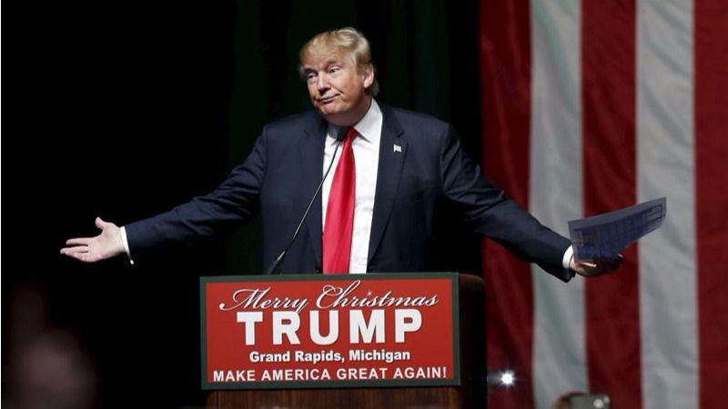 Mitin del republicano Donald Trump