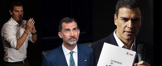 Jaque del Rey: don Felipe debe decidir si dar tiempo a Sánchez o pasar la iniciativa a Rajoy