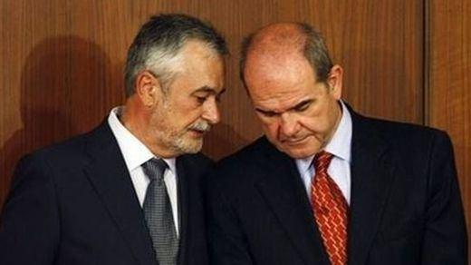 Chaves y Griñán declararán como 'imputados-investigados' el 16 de marzo en el 'caso de los ERE'