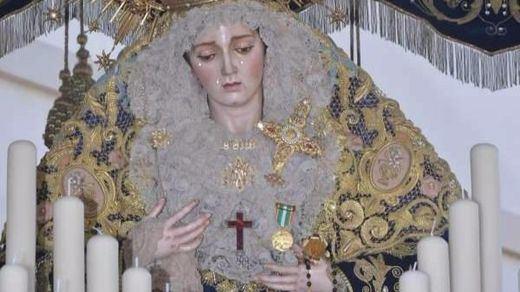 La medalla policial concedida a la Virgen llegará al Constitucional